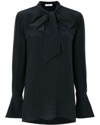Equipment - Tie Neck Blouse - Lyst