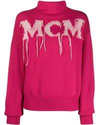 MCM ロゴ セーター - ピンク