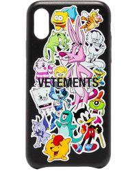 Vetements Monster Iphone Xs ケース - ブラック