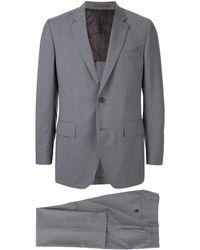 Gieves & Hawkes ピンストライプ スーツ - グレー