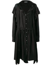 Faith Connexion X Nvds Oversized Shirt Dress - Black