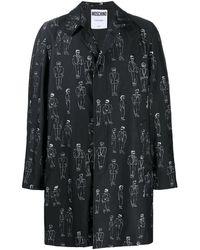 Moschino - Куртка-рубашка С Принтом - Lyst