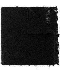 Rick Owens - Distressed Scarf - Lyst
