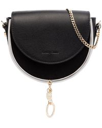 See By Chloé Black Mara Leather Cross Body Bag