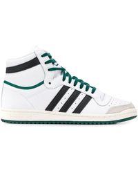 adidas Top Ten High-top Sneakers - Wit
