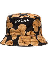Palm Angels Панама Broken Из Коллаборации С Browns 50 - Черный