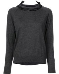 Simone Rocha - Ribbon Detail Sweater - Lyst