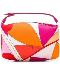 Emilio Pucci Printed Make Up Bag - Multicolour