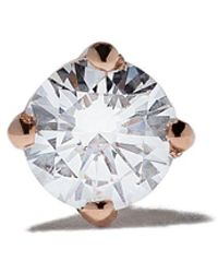 Vanrycke 18kt Rose Gold Diamond Valentine Earring - Metallic