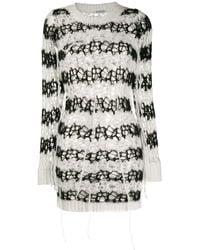 Faith Connexion Loose Knit Sweatshirt - Black