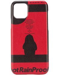 Styland Чехол Notrainproof Для Iphone 11 Pro - Красный