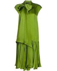 Rochas ストレート ドレス - グリーン