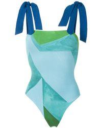 Clube Bossa Lavello ワンピース水着 - ブルー