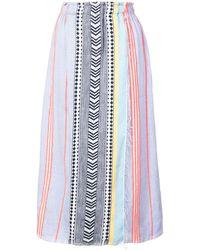 lemlem Sofia ラップスカート - ブルー