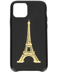 Vetements Eiffel Tower Iphone 11 Pro Case - Black