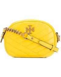 Tory Burch Kira Quilted Crossbody Bag - Yellow