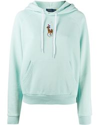 Polo Ralph Lauren Embroidered Polo Hoodie - Green