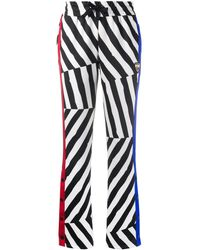 Rossignol X Jcc Striped Track Pants - White
