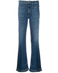 Polo Ralph Lauren Raw Edge Bootcut Jeans - Blue