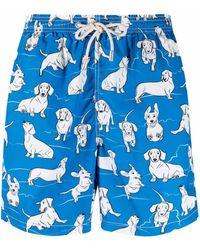 Mc2 Saint Barth - Плавки-шорты Happy Dog - Lyst