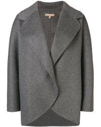 Michael Kors - Oversized Short Coat - Lyst