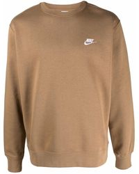 Nike Sportswear Club フリース スウェットシャツ - ブラウン