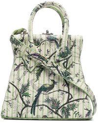 Vivienne Westwood Сумка-тоут С Узором - Зеленый