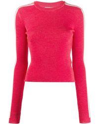 Fiorucci Long-sleeve Logo Sweater - Red