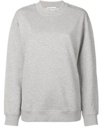 Paco Rabanne - Back Logo Oversized Sweatshirt - Lyst