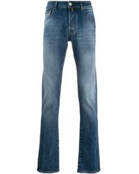 Jacob Cohen Straight Jeans - Blauw