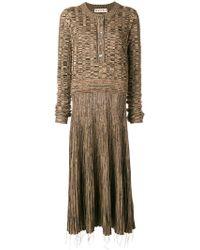 Marni - Drop Waist Dress - Lyst