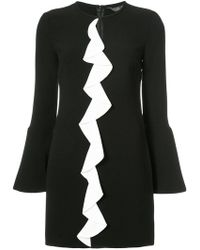 Rachel Zoe - Frill Detail Dress - Lyst
