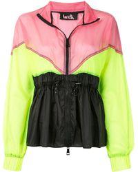 Haculla Colour-block Jacket - Yellow