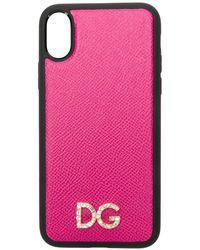 Dolce & Gabbana - ロゴ Iphone X ケース - Lyst