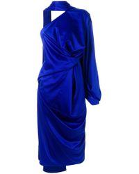 Solace London - Sorina One-shoulder Dress - Lyst