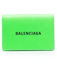 Balenciaga Cash 財布 - グリーン