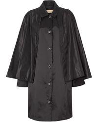 Burberry Mantel Met Ceintuur - Zwart