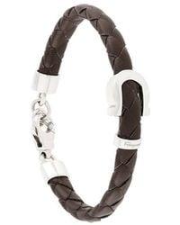 Ferragamo - Woven Gancio Bracelet - Lyst