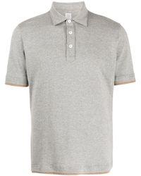 Eleventy レイヤード ポロシャツ - グレー