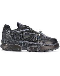 Maison Margiela 'Fusion' Sneakers - Schwarz