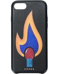 Chaos Matchstick iPhone 7/8 case - Noir