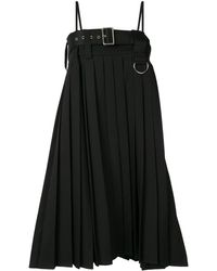 we11done プリーツ ドレス - ブラック