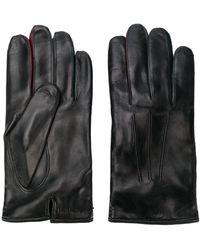 Paul Smith Перчатки С Тисненым Логотипом - Черный