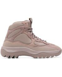 Yeezy Sneakers mit Schnürung - Mehrfarbig