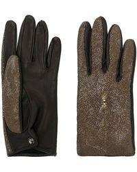 Giorgio Armani Pre-Owned - メタリックパネル 手袋 - Lyst