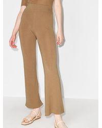 St. Agni Pantalones de punto Thea anchos - Neutro