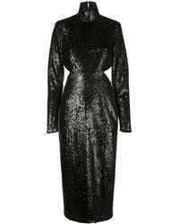 Cinq À Sept Daniela スパンコール ドレス - ブラック