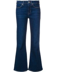 M.i.h Jeans Flared Cropped Jeans - Blue