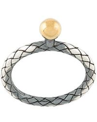 Bottega Veneta - Intrecciato Ring - Lyst