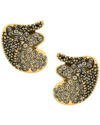 Camila Klein - Strass Embellishment Earrings - Lyst